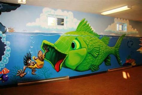 christian wall murals jerry s airbrush jonah and whale wall murals jerry s wall murals murals and