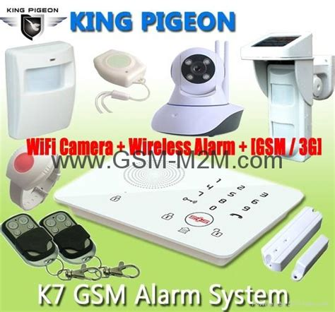 home security alarm with notify alert k8