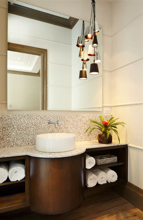 Tropical Bathroom Lighting Contemporary Bathroom Lighting Bathroom Contemporary With Bathroom Chroma Countertop Condo