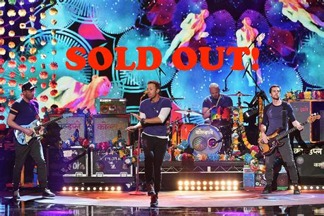 coldplay singapore coldplay singapore 2017 100 000 tickets sold out