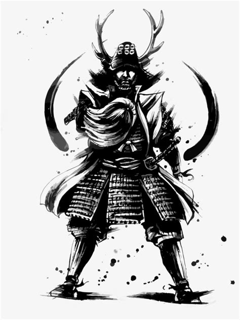 ink samurai ink samurai vector japan png and vector for