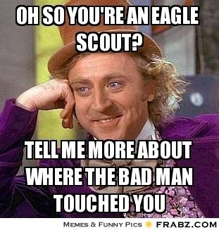 Scout Meme - willy wonka meme