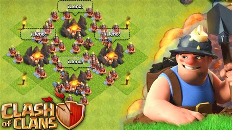 imagenes epicas de clash of clans 161 quot ataque todo mineros en clash of clans quot antrax youtube