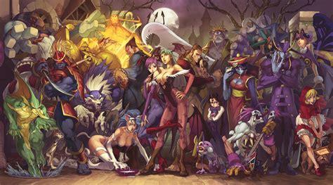 best darkstalkers darkstalkers characters bomb