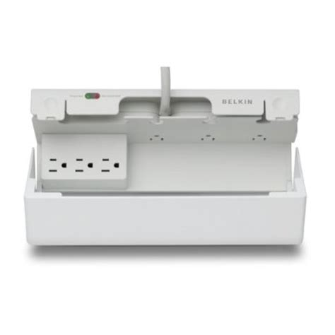 Belkins Concealed Surge Protector Keeps All Those Wryly Plugs Neat And Tidy by Belkin Mini Concealed Surge Protector Gadgetgrid