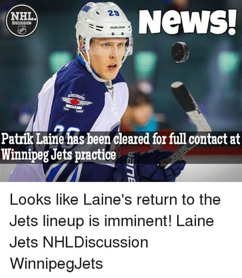 Jets Memes - news 2a nhl discussion patrik laine has been cleared for