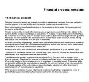 financial breakdown template sle financial template 8 free documents in