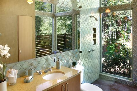 moroccan tile bathroom moroccan tile bathroom contemporary with federation house