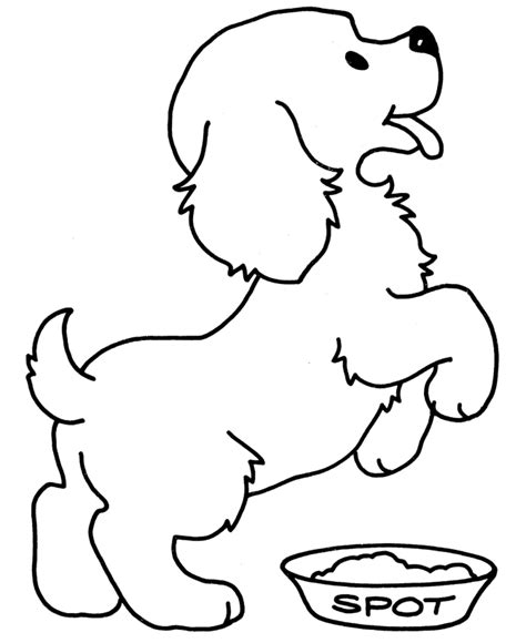 free coloring pages with dogs puppy dog colouring pages