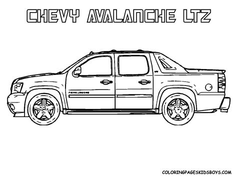 free coloring pages of 2014 gmc