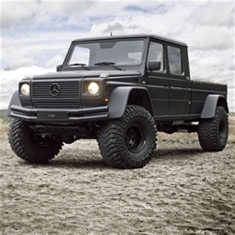 lifted mercedes truck this 2002 mercedes g500 up is a g wagon