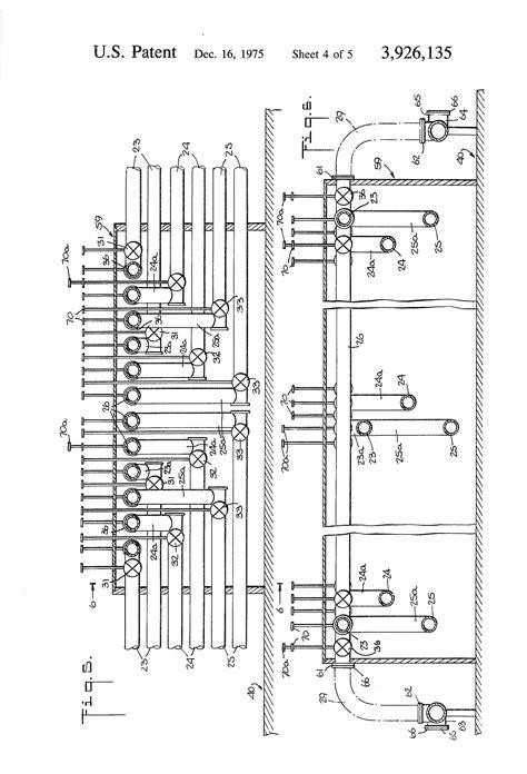 Patent US3926135 - Multipurpose pipeline system for