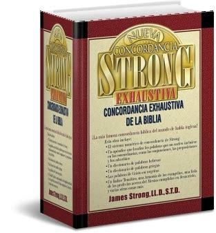 libro nueva concordancia strong exhaustiva iglesia evangelica metodista fuente de gracia
