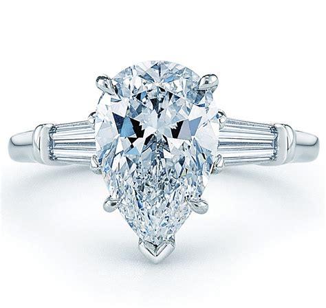 ring settings ring settings for pear shaped diamonds