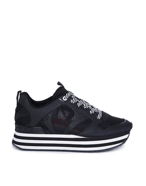 Dkny Redesigned Their Home Page by Dkny Active Dkny Active Mesh Flatform Trainers