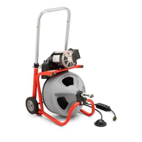 ridgid k 400 drain cleaner 24853 the home depot