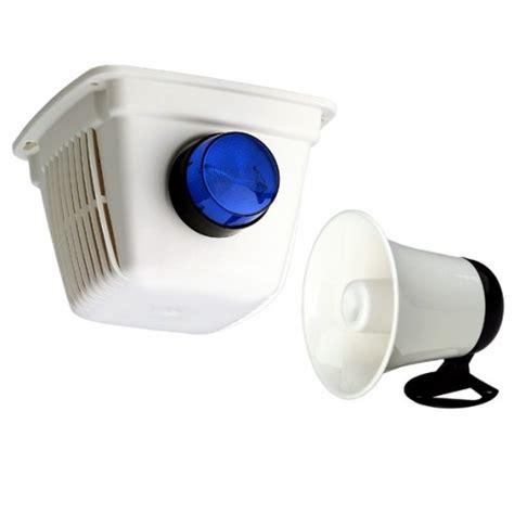 ness security alarm siren kit cover horn strobe 106