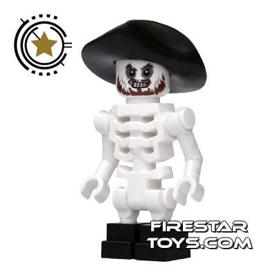 lego pirates of the caribbean mini figure skeleton
