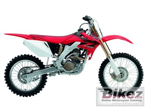 2007 honda crf250r specs 2007 honda crf 250 r specifications and pictures