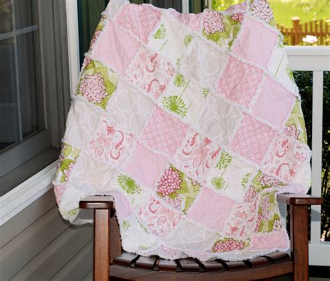Toddler Bed Quilt Size by Toddler Bed Size Rag Quilt Made To Order By Redeyedstudio