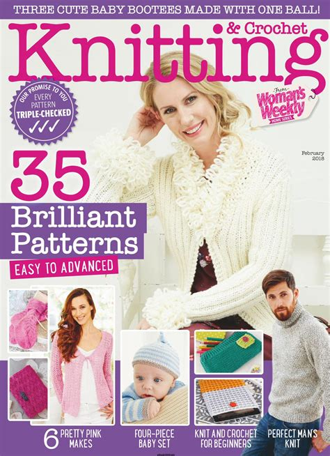 Novel S Weekly Fiction Special April 2017 Ebook knitting crochet from woman s weekly february 2018
