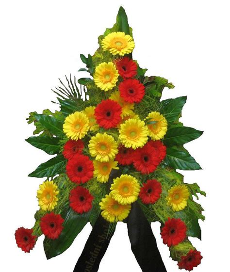 Funeral Bouquet by Funeral Bouquet Of Gerberas Stuartovna