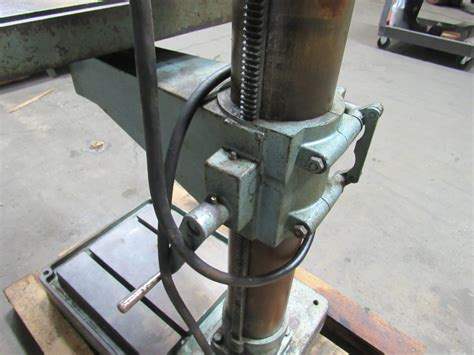 wilton 24503 20 quot geared head power feed drill press 85