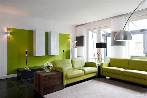 woonkamer kleur verf green woonkamer muurverf