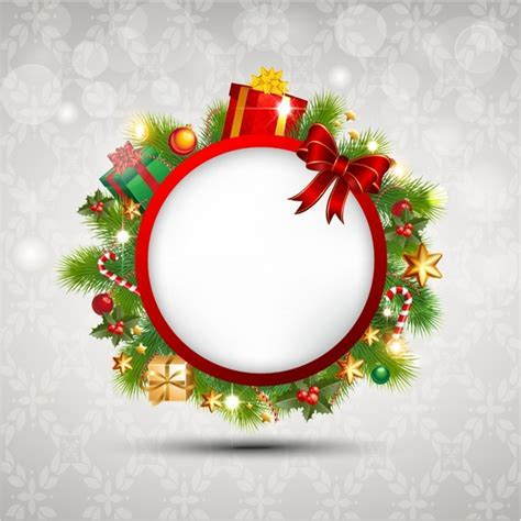 christmas banner free vector in adobe illustrator ai ai