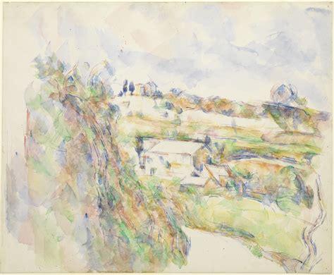zanne sketchbook file 1904 c 233 zanne chemin des lauves the turn in the