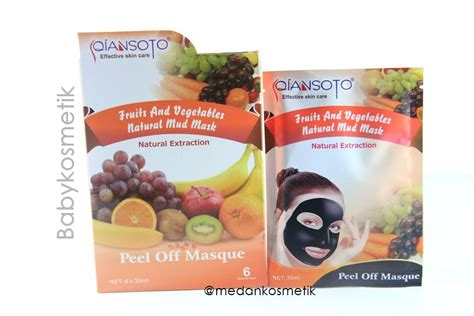 Vienna Masker Tidur Anti Jerawat 15ml toko kosmetik dan bodyshop 187 archive masker qiansoto fruits vegetables mud
