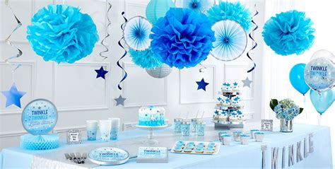 Twinkle Twinkle Decorations Baby Shower by Blue Twinkle Twinkle Gender Reveal Baby Shower