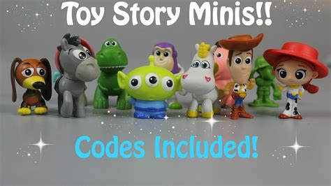 Mini Figure Story story mini figures blind bags with codes 2017