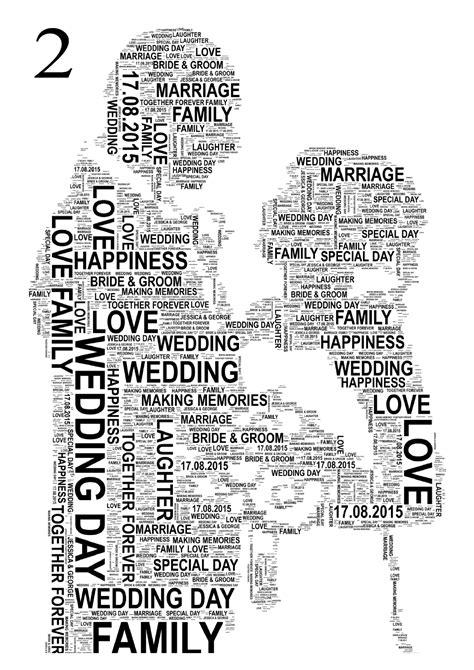 wedding word personalised wedding word print groom free