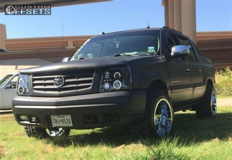 2004 cadillac escalade custom wheel offset 2004 cadillac escalade ext aggressive 3