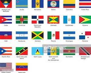 caribbean flags kitts and nevis stock illustrations and