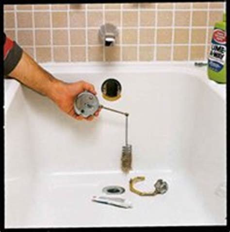 how to fix a bathtub drain lever bathtub drain lever repair pictures to pin on pinterest