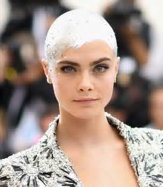 cara delevingne bald hairstyles lookbook stylebistro
