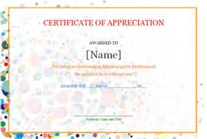 Free Certificate Of Appreciation Template Downloads Free Download Certificate Of Appreciation About Ms Word