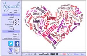 And cut the words out of vinyl for beautiful personalized word art