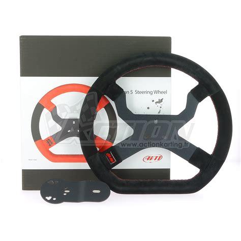 volante kart volant aim mychron 5 karting accessoires ch 226 ssis