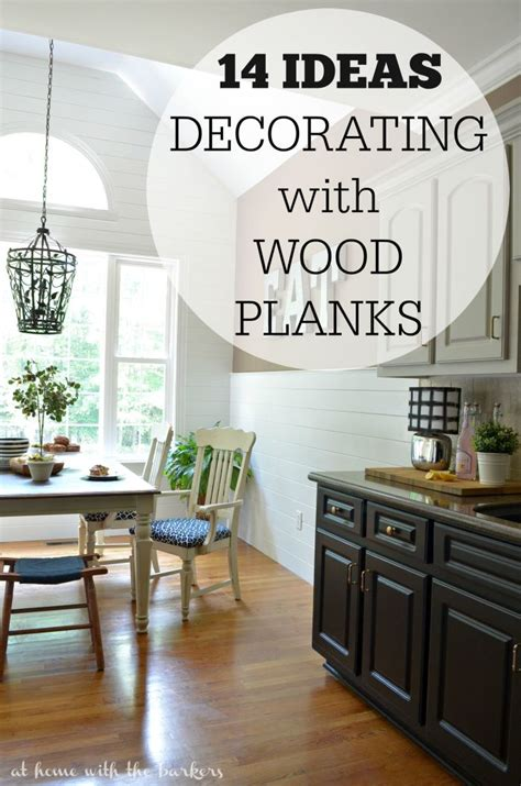 decorating  wood planks