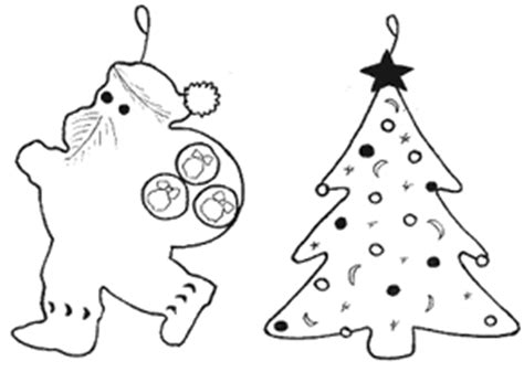 christmas ornament to color and cut out search results