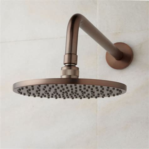 oil rubbed bronze ls rain shower head oil rubbed bronze www pixshark com