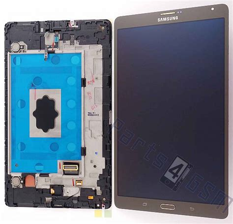Lcd Samsung Tab 4 samsung galaxy tab s 8 4 4g t706 lcd display module silver gh97 16095b parts4gsm