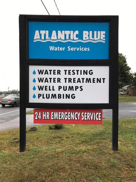 Plumbing Supply Westminster Md by Atlantic Blue Water Services In Westminster Md 21157