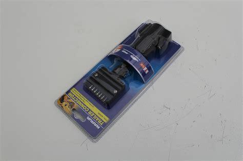 narva trailer connector adaptor 7 pin flat socket on car 5