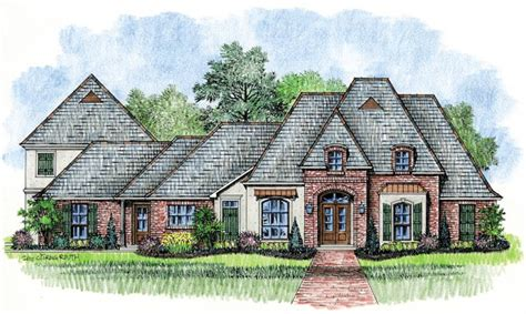 country french house plans harrells ferry country french home plans louisiana house