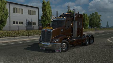 kenworth t kenworth t 609 lhd 1 28 x truck mod truck