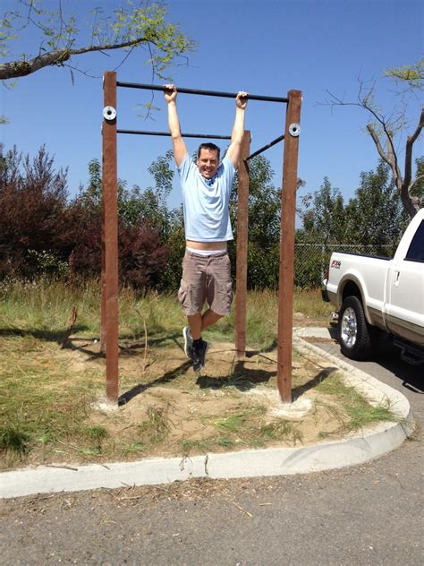 backyard pull up bar plans outdoor pull up bar plans www imgkid com the image kid has it